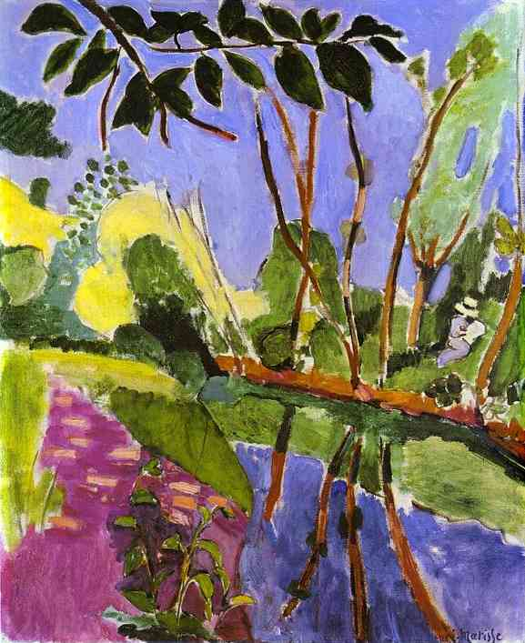 Henri Matisse - The Riverbank 1907